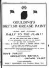 DON'T FORGET GOULDING'S BRITISH GREASE PAINT.