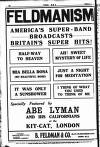 THE ERA FELDMANISM AMERICA'S SUPER-BAND BROADCASTSBRITAIN'S SUPER HITS! HALF-WAY TO HEAVEN MIA BELLA ROSA (HY BEAUTIFUL BOSE) IT WAS ONLY A SUNSHOWER