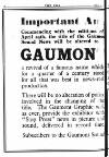 Subscribers to the Gaumont Sound