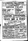 First Tmh in England FRANKLYN D'AMORE with JACK LANK Vaudeville Surprise HAI-YUNG TROUPE THREE ALLISONS Acrobats THE KIRKS Fun on