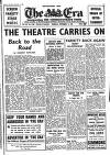THE THEATRE CARRIES ON Back to the Road By MARGERY ROWLAND