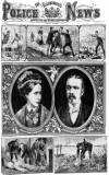 Illustrated Police News Saturday 18 September 1880 Page 1