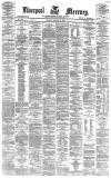 Liverpool Mercury Monday 10 January 1876 Page 1