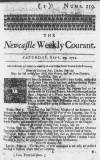 Newcastle Courant