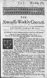 THE.Nemaftle Weekly Courant.