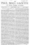 Pall Mall Gazette Monday 21 June 1869 Page 1