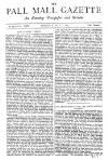 Pall Mall Gazette Thursday 01 May 1879 Page 1