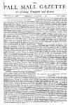 Pall Mall Gazette Thursday 01 January 1880 Page 1