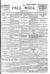Pall Mall Gazette Thursday 23 January 1913 Page 1