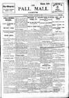 Pall Mall Gazette Monday 05 January 1914 Page 1