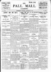 Pall Mall Gazette Wednesday 21 January 1914 Page 1