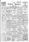 Pall Mall Gazette Monday 26 January 1914 Page 1