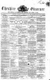 Cheshire Observer Saturday 26 August 1854 Page 1