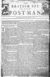 Derby Mercury Thu 06 Apr 1727 Page 1