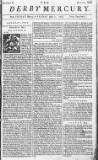 Derby Mercury Fri 04 May 1750 Page 1