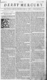 Derby Mercury Fri 08 Jun 1750 Page 1