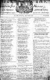 Manchester Mercury Tue 28 Jul 1752 Page 1