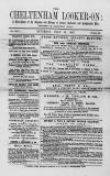 Cheltenham Looker-On Saturday 16 July 1887 Page 1