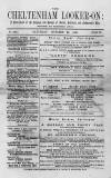 Cheltenham Looker-On Saturday 29 October 1887 Page 1