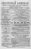 Cheltenham Looker-On Saturday 17 March 1888 Page 1