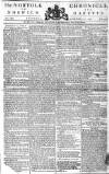 Norfolk Chronicle Saturday 21 December 1776 Page 1