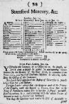 Stamford Mercury Wed 26 Jan 1715 Page 1