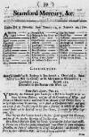 London Bill of Mortality, from January 12, to January 19, 1720,