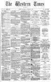 Western Times Saturday 20 October 1877 Page 1