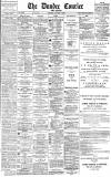 Dundee Courier Monday 07 January 1889 Page 1