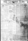 Liverpool Echo Tuesday 04 January 1881 Page 1