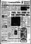 FUEL TAX ADDS TO THE SHOPPING BILL