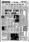BRITISH STARS ON A LOSER