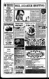 Wells Journal Thursday 12 April 1990 Page 26