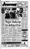 Major shake-up for defence firm