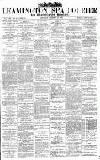 Leamington Spa Courier Saturday 12 January 1884 Page 1