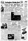 Nottingham Evening Post Wednesday 08 March 1950 Page 1