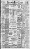 Lincolnshire Echo Friday 18 January 1895 Page 1