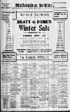 Staffordshire Sentinel Monday 03 January 1910 Page 1