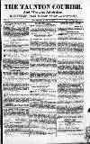 Taunton Courier, and Western Advertiser Thursday 19 April 1810 Page 1