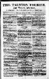 Taunton Courier, and Western Advertiser