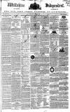 Wiltshire Independent Thursday 12 April 1838 Page 1
