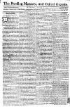 Reading Mercury Monday 31 December 1770 Page 1