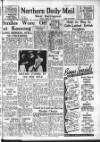 Hartlepool Northern Daily Mail Friday 10 August 1951 Page 1