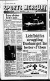 Lichfield Mercury Friday 01 December 1989 Page 72