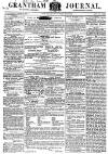 Grantham Journal Saturday 12 January 1856 Page 1