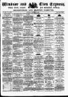 Windsor and Eton Express Saturday 08 February 1896 Page 1