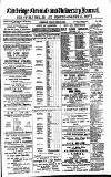 Cambridge Chronicle and Journal Friday 12 June 1885 Page 1