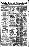 Cambridge Chronicle and Journal Friday 03 December 1886 Page 1