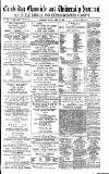 Cambridge Chronicle and Journal Friday 22 April 1887 Page 1