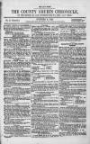 County Courts Chronicle Monday 02 October 1848 Page 1